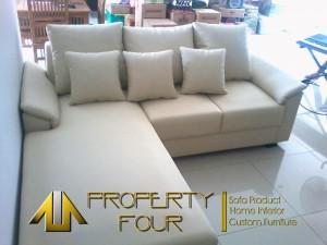 Sofa L Sudut Layer Pesanan Bapak Ekhsanor