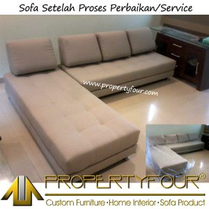 Hasil service sofa jakarta bekasi