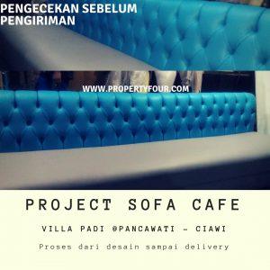 Produksi Pembuatan sofa Cafe
