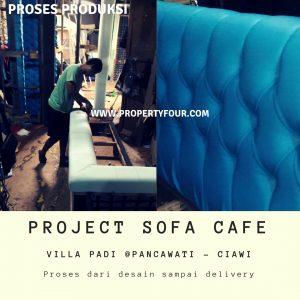 Produksi sofa cafe