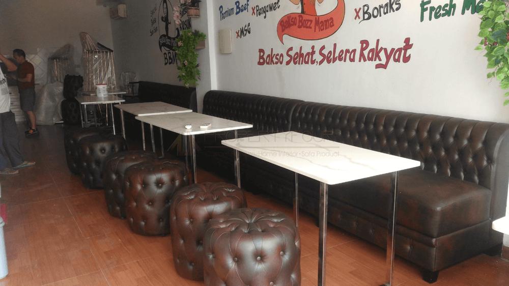jasa custom sofa cafe resto 2