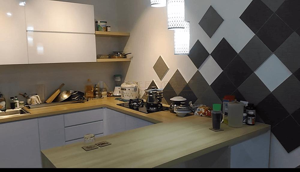 Pembuatan Kitchen set serpong