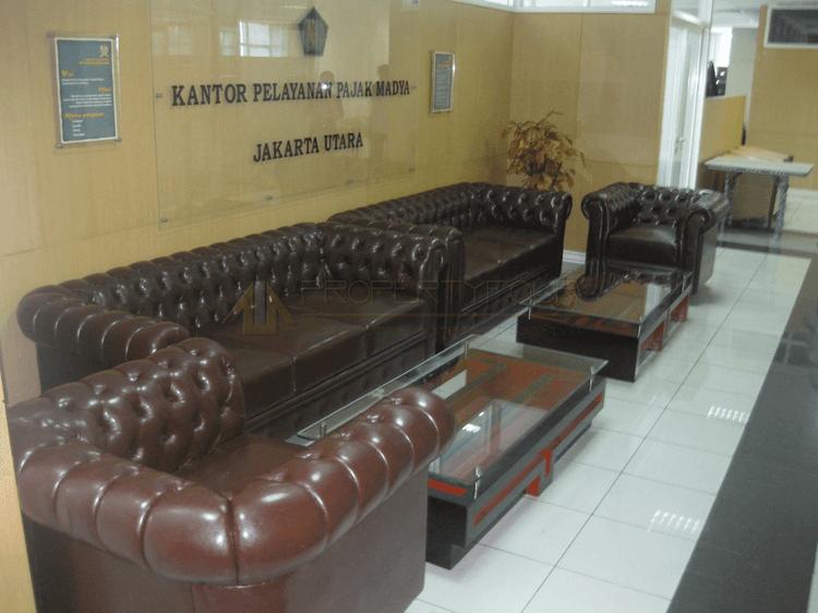 jasa custom sofa ruang tunggu lounge
