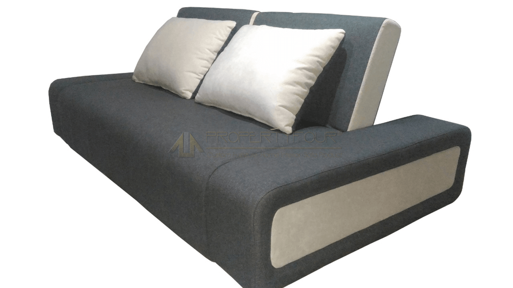 Sofa Bed Minimalis Double Recliner