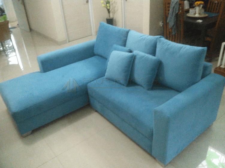 sofa L minimalis jagakarsa after 2