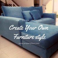 Sofa minimalis l sudut