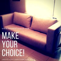 Sofa minimalis custom