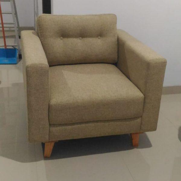 Sofa Minimalis Scandinavian Satu Dudukan