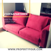 Sofa minimalis apartemen